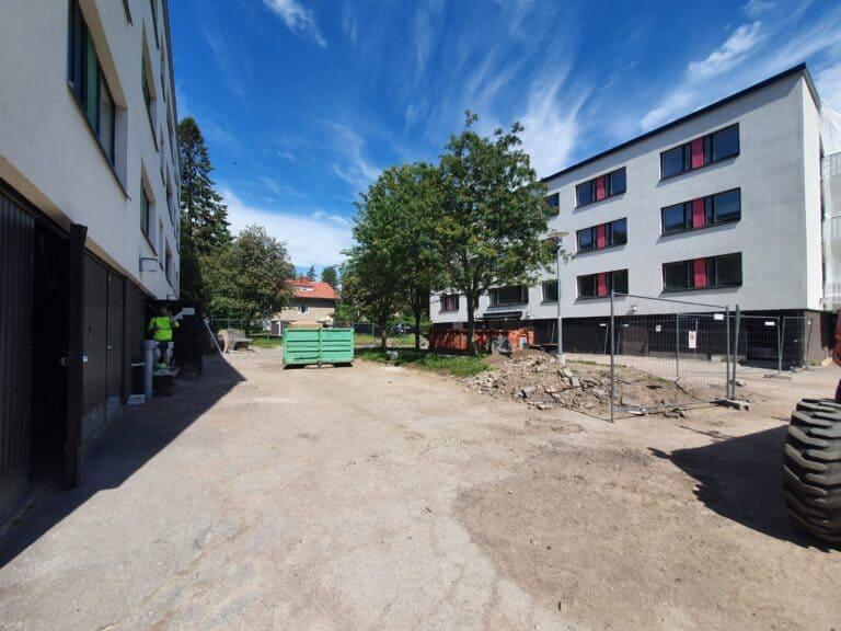 98 asunnon remontointityöt Helsingin Hilapellontiellä